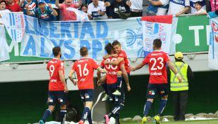 [VIDEO] Goles Copa Chile: La UC logra victoria ante Temuco en el Germán Becker