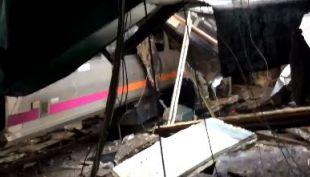 [VIDEO] Grabación muestra cómo quedó la estación Hoboken tras impacto de tren