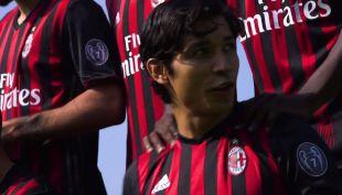 [VIDEO] Así lució Matías Fernández en la foto oficial del AC Milan