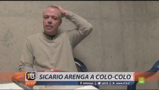 [VIDEO] Ex sicario de Pablo Escobar arenga a Colo-Colo