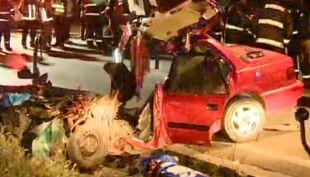 Accidente en curva de la muerte termina con tres fallecidos y dos heridos