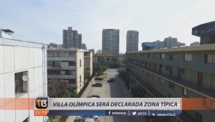 Villa Olímpica de Ñuñoa será declarada zona típica