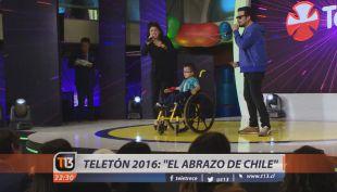 """Teletón 2016 es lanzada bajo lema """"El Abrazo de Chile"""""""