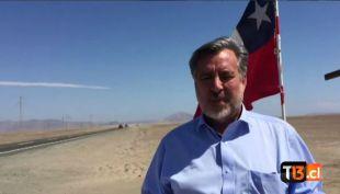 [VIDEO] Senador Alejandro Guillier invita a votar a un día de las municipales