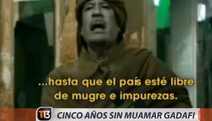 [VIDEO] Libia a cinco años de la caída de Muamar Gadafi