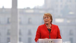 Presidenta Bachelet llega a votar