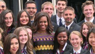 Multifacética y extrovertida: el fenómeno de Michelle Obama en Estados Unidos