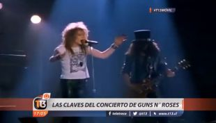 [VIDEO] Guns N Roses en Chile: las claves de su retorno a nuestro país