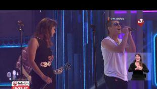 [VIDEO] Teletón: así fue el regreso de Kudai a la televisión tras su reencuentro musical