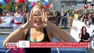 [VIDEO] Kika Silva es la ganadora indiscutida de los 100 metros planos en la Olimpiatón