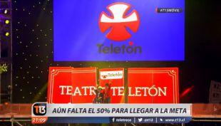 [VIDEO] Teletón 2016: aún falta el 50% para llegar a la meta
