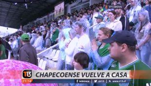[VIDEO] El emotivo homenaje a los jugadores del Chapecoense