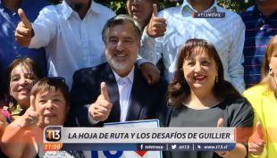 [VIDEO] Alejandro Guillier: El candidato del Partido Radical alista su hoja de ruta
