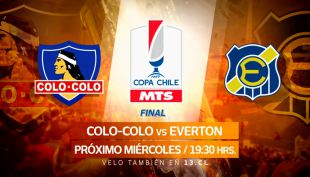 [VIDEO] La gran final de Copa Chile entre Colo Colo y Everton se vive en Canal 13