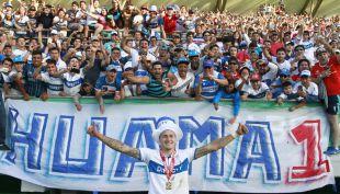 [VIDEO] La celebración en familia del goleador cruzado Nicolás Castillo