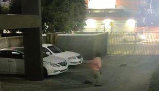 [VIDEO] El impactante registro de una persecución que terminó con volcamiento en Concepción
