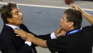 [VIDEO] La acalorada discusión de técnicos que casi termina a golpes en Copa Centroamericana