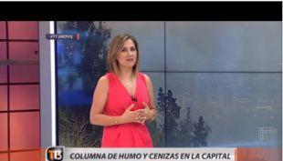 Michelle Adam explica los efectos del humo en Santiago