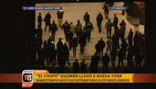 Joaquín El Chapo Guzmán llega a Estados Unidos luego de su extradición desde México