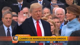 Juramento de Donald Trump