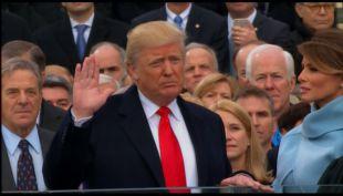 Cambio de mando: Trump juró como presidente de los Estados Unidos