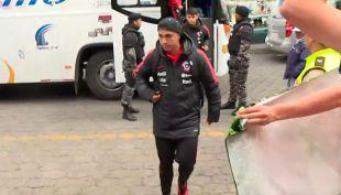 [VIDEO] Así fue la llegada de La Roja Sub 20 a Ambato de cara a su duelo con Ecuador
