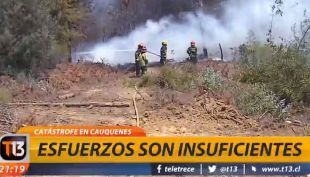 [VIDEO] Emergencia en Cauquenes: Esfuerzos se tornan insuficientes
