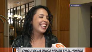Chiqui Aguayo está optimista y preparada para los aplausos