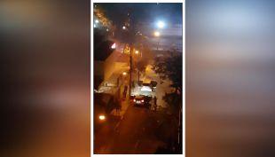 [VIDEO] Vecinos presencian violenta balacera en Providencia