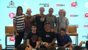 [VIDEO] Los Fabulosos Cadillacs debutan en Viña