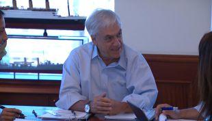 [VIDEO] Piñera retomó sus actividades en la antesala de un mes clave