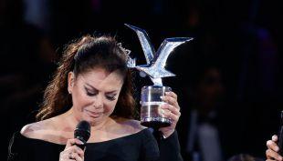 Isabel Pantoja recibe Gaviota de Platino