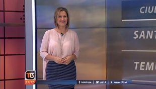 [VIDEO] Anuncian más lluvias para la cordillera y ola de calor para la zona central