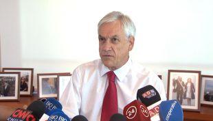 [VIDEO] Piñera acusa campaña sucia por parte del Partido Comunista