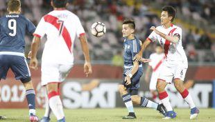 [VIDEO] La goleada sobre Perú con que Argentina revive en el Sudamericano Sub 17