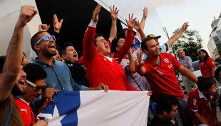 """[VIDEO] 5 mil hinchas apoyarán a """"La Roja"""" este jueves en Buenos Aires"""