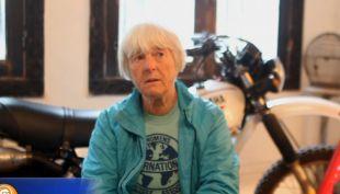 [VIDEO] La mujer motociclista que lleva 50 años viajando por el mundo