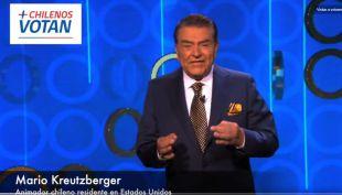 [VIDEO] Don Francisco invita a chilenos en el exterior a votar en las elecciones presidenciales