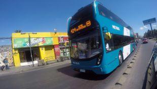 [VIDEO] Transantiago: tras 22 días de prueba el bus de dos pisos tiene la mejor nota del sistema
