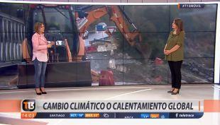 [VIDEO] ¿Seguirán las lluvias? Michelle Adam explica cómo viene el tiempo el fin de semana