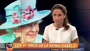 Reina Isabel II cumpleaños 91
