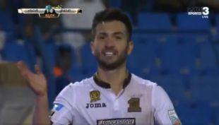 [VIDEO] El golazo de Carlos Villanueva en el equipo de José Luis Sierra en Arabia Saudita