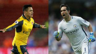 [VIDEO] Claudio Bravo espera por Alexis Sánchez en Manchester City