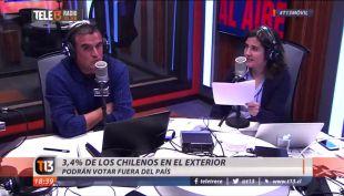 Sismo en vivo en Tele13 Radio
