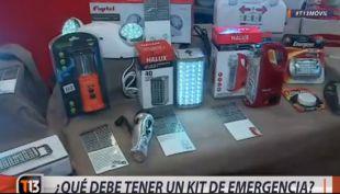[VIDEO] ¿Qué debe tener un kit de emergencia?