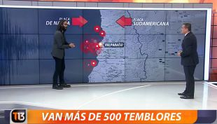 [VIDEO] Más de 500 sismos en una semana: Marcelo Lagos explica el fenómeno