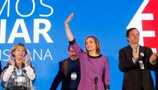 [VIDEO] Junta nacional de la DC decide que Carolina Goic va a primera vuelta