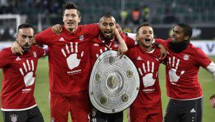 [VIDEO] Arturo Vidal nuevamente grita campeón con el Bayern Münich