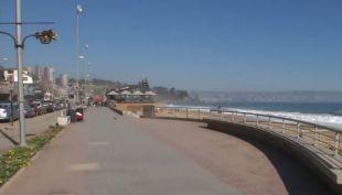 [VIDEO] Baja turismo en la Quinta región por sismos en la costa