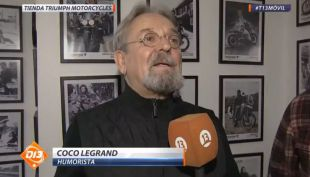 [VIDEO] En D13 Motos Coco Legrand nos cuenta los divertidos nombres de sus motocicletas